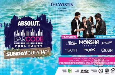 Barcode Pool Party Kolkata 14 July