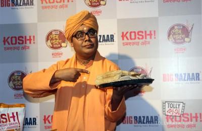 Rj Mir at Big Bazar Poush Parbon Launch